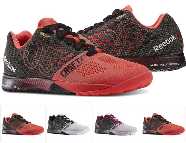 reebok womens gym shoes