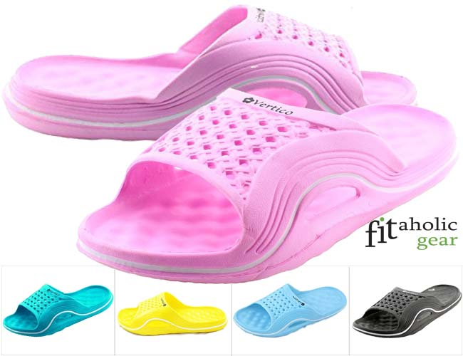 81699a6901c Vertico Slide-on Women s Shower and Poolside Sandal  for college